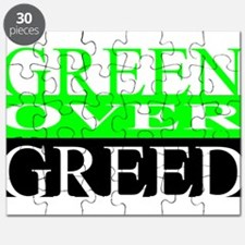 Green Over Greed Puzzle