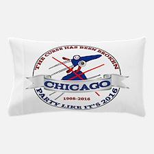 Chicago Billy Goat Curse is Broken Pillow Case