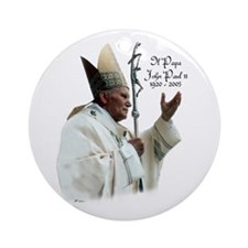 Il Papa - Pope John Paul II Keepsake Ornament