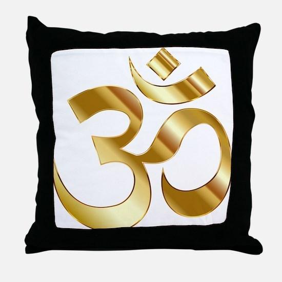 Om Symbol Throw Pillow