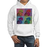 Roosters Gone Psycho Hooded Sweatshirt