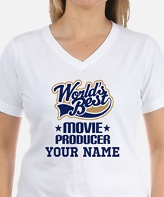 Movie Producer Personalized Gift T-Shirt