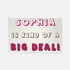 Sophia Is Kind of a Big Deal Rectangle Magnet