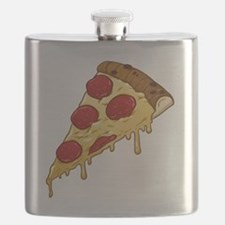 Cute Pizza slice food Flask
