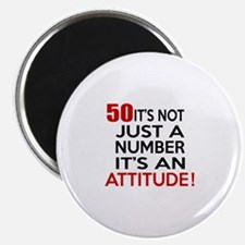 """50 It Is Not Just a Number 2.25"""" Magnet (100 pack)"""
