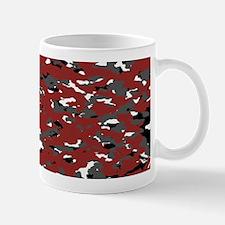 Camouflage: Red I Mug