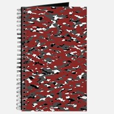 Camouflage: Red I Journal
