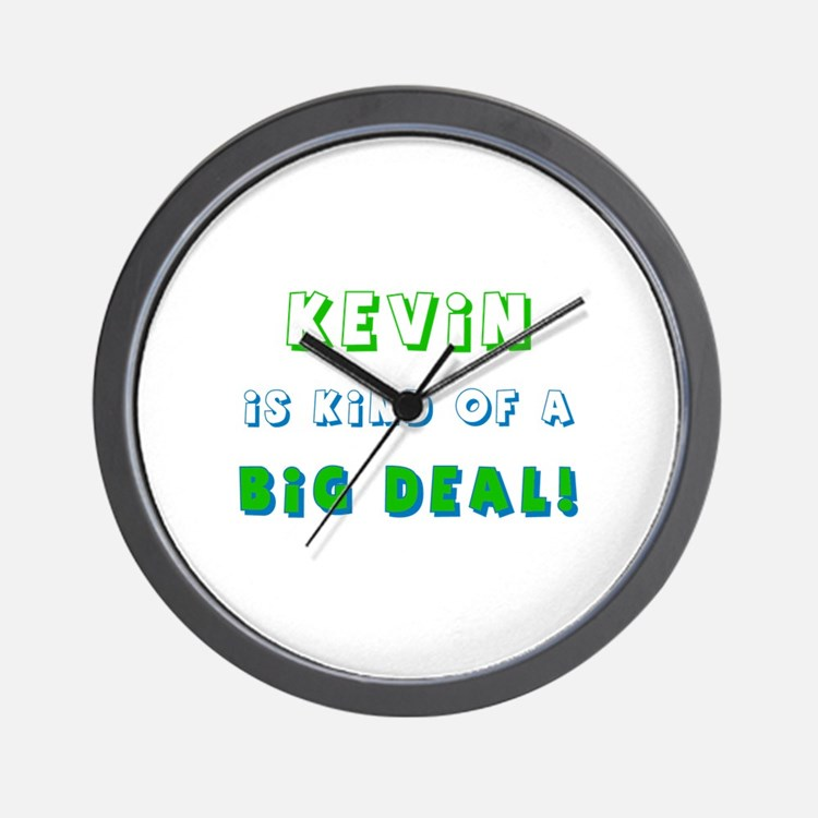 Kevin Is Kind of a Big Deal  Wall Clock