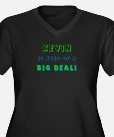 Kevin Is Kind of a Big Deal  Women's Plus Size V-N