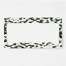 camouflage alpine v license plate holder