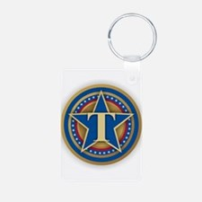 T for Trump Keychains