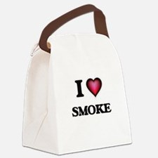 I love Smoke Canvas Lunch Bag