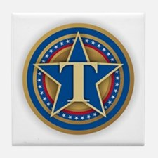 T for Trump Tile Coaster