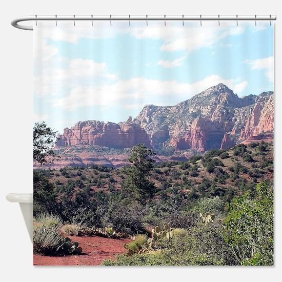 Rocks near Sedona, Arizona 6 Shower Curtain