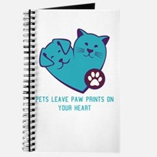pets leave paw prints on your heart Journal