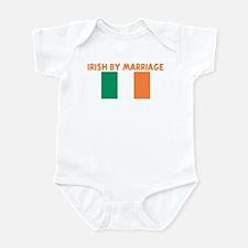IRISH BY MARRIAGE Infant Bodysuit