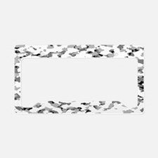camouflage alpine vi license plate holder