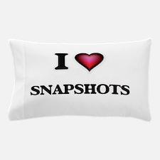I love Snapshots Pillow Case