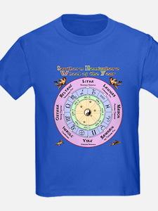 Celtic Pagan Wheel T