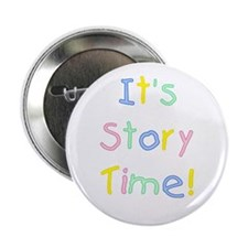 """It's Story Time! 2.25"""" Button (10 pack)"""