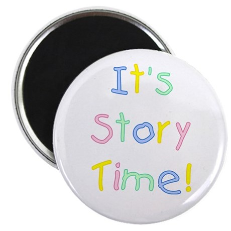 It's Story Time! Magnet