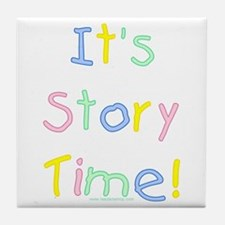 It's Story Time! Tile Coaster