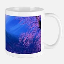Moonlit Mountain Scenic Landscape Mug Mugs