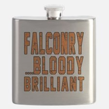 Falconry Bloody Brilliant Sports Designs Flask