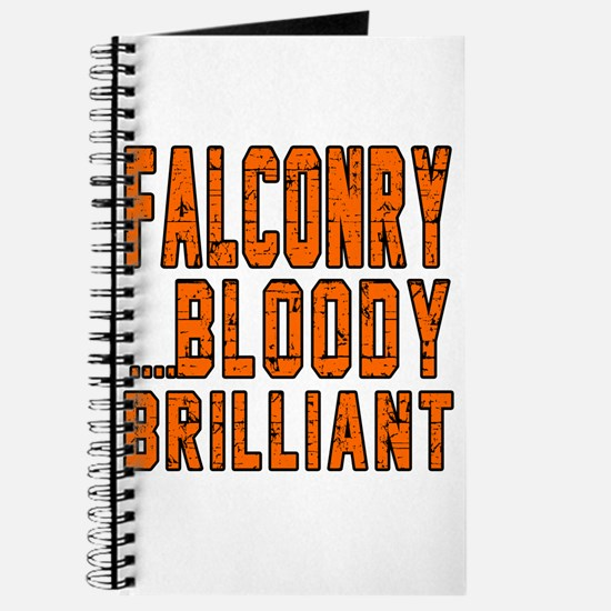 Falconry Bloody Brilliant Sports Designs Journal