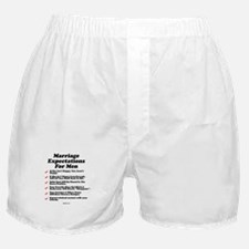Marriage Expectations For Men Boxer Shorts