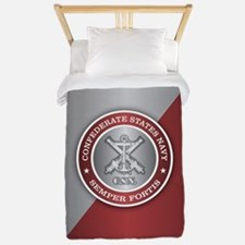 Confederate States Navy Twin Duvet