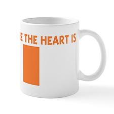 IRELAND IS WHERE THE HEART IS Mug