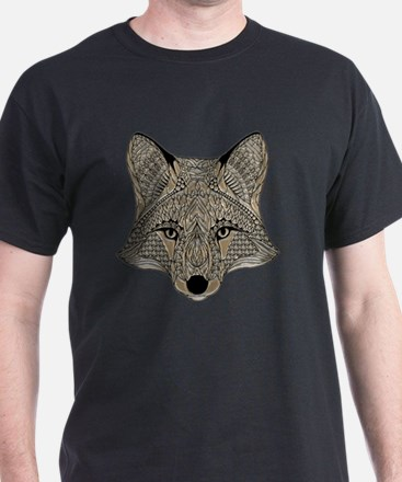 Unique Fox head T-Shirt
