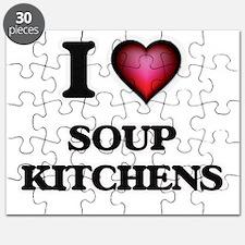I love Soup Kitchens Puzzle