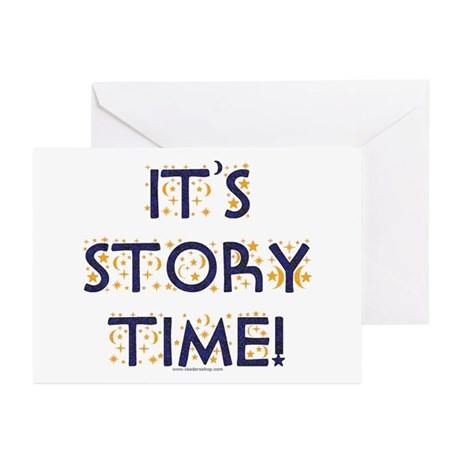 Story Time-Night Sky Greeting Cards (Pk of 10)