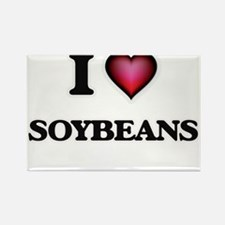 I love Soybeans Magnets