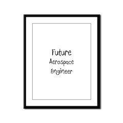 Future Aerospace Engineer Framed Panel Print
