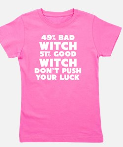Unique You good witch bad witch Girl's Tee