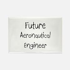 Future Aeronautical Engineer Rectangle Magnet