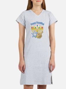 Cute Hanukkah Women's Nightshirt