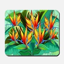 Bird of Paradise Flower Exotic Nature Mousepad