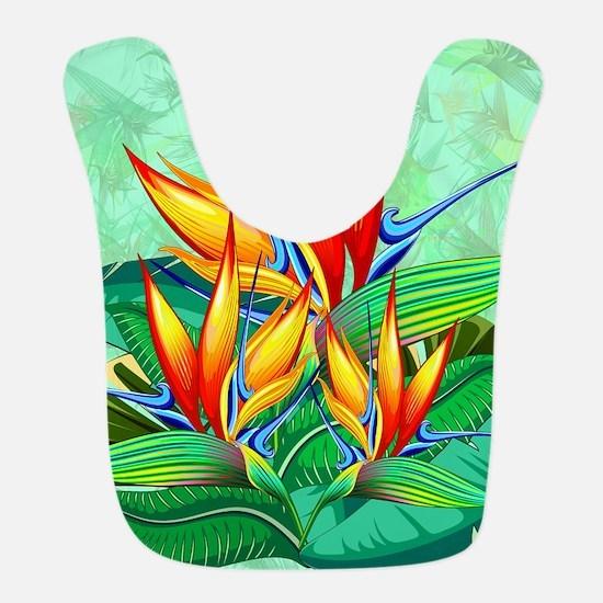 Bird of Paradise Flower Exotic Nature Polyester Ba