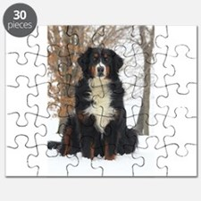 Berner in Snow Puzzle