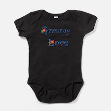 Cute Loves granny Baby Bodysuit