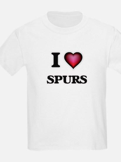 I love Spurs T-Shirt