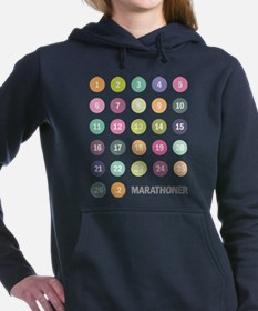 Unique Runner Women's Hooded Sweatshirt