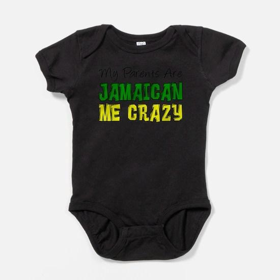 Cute Jamaican theme Baby Bodysuit