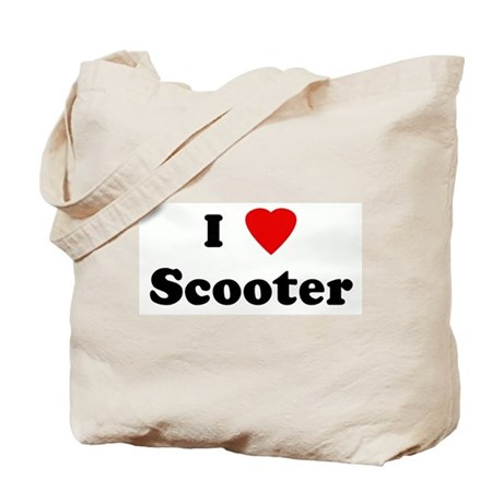 I Love Scooter Tote Bag