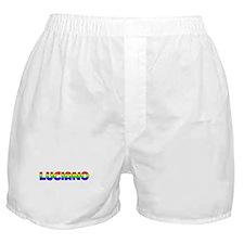 Luciano Gay Pride (#004) Boxer Shorts