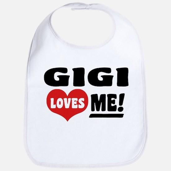 Gigi Loves Me Bib